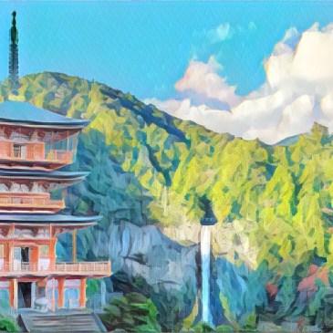 世界遺產-熊野古道,穿越大雲取越看見日本第一的瀑布