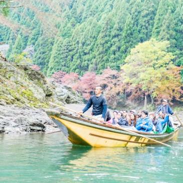 京都嵐山,夏目漱石筆下的保津川遊船