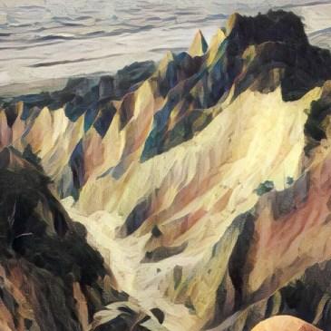 台灣小百岳-苗栗火炎山,享受大峽谷的震撼