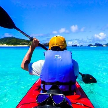 沖繩無人島,划獨木舟到嘉比島探險吧!
