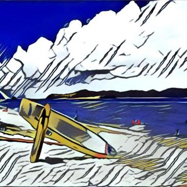 潛入慶良間的藍,阿嘉島的北濱海灘