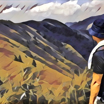 台北抹茶森林,小觀音山火山口探險
