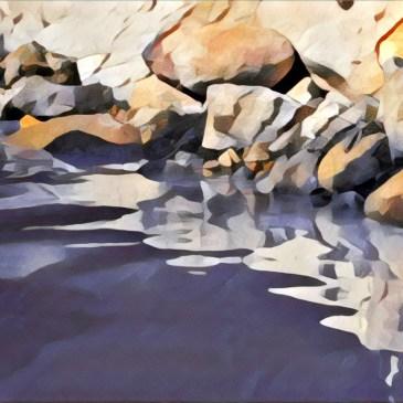 搭公車就會到!陽明山的下七股野溪溫泉
