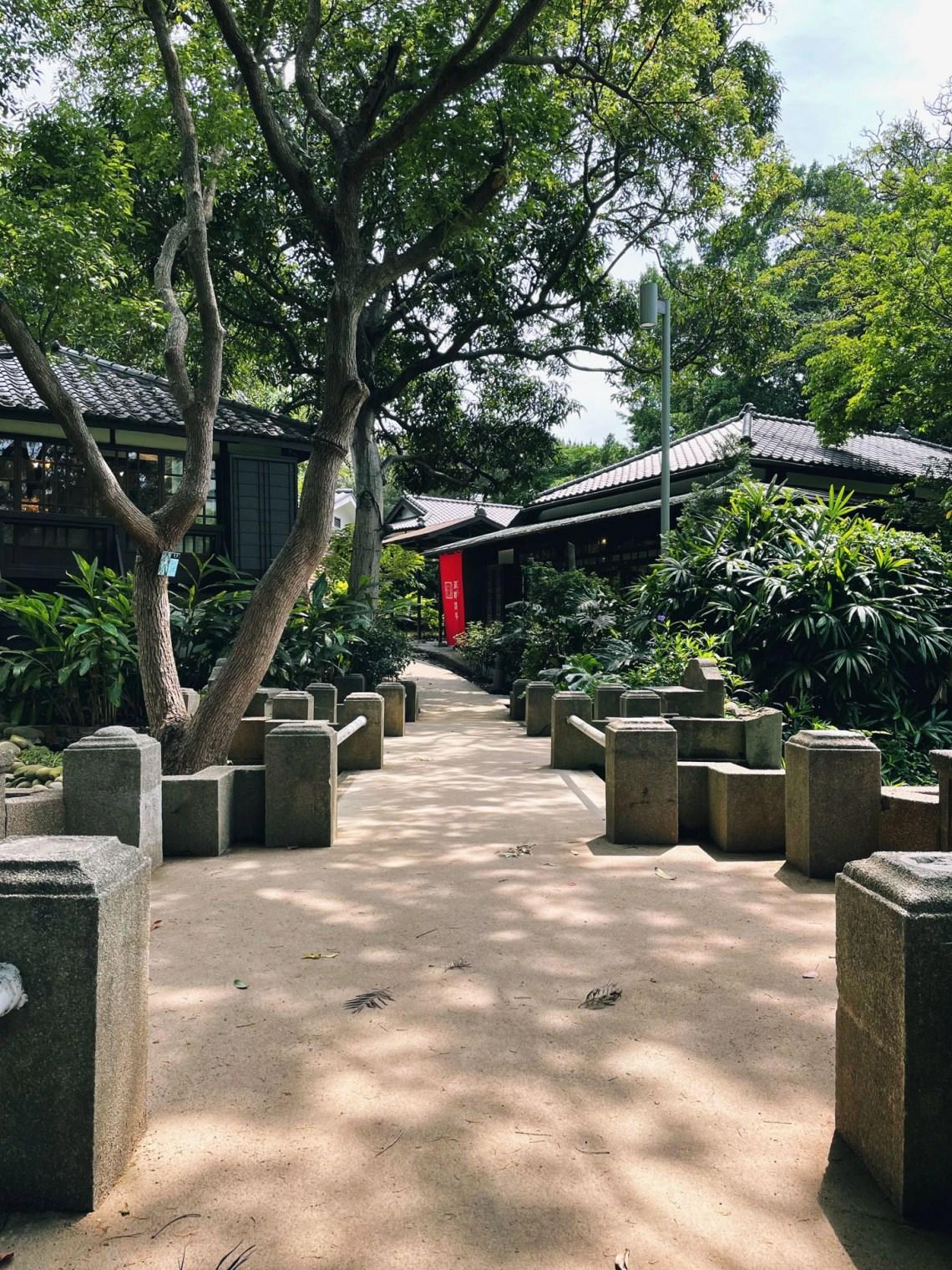 新竹公園的湖畔料亭