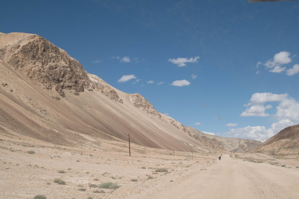 So soft and so hard: Pamir Highway.