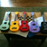 (Almost) Wordless Wednesday: The Ukelele Edition