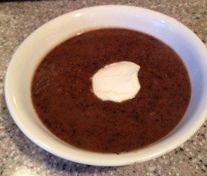 Basic Black Bean Soup