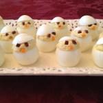 Deviled Egg Chicks For Easter