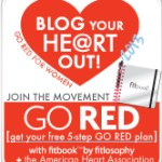 Blogging My Heart Out To Go Red For Women