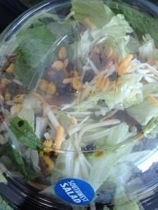 McDonalds Southwest Salad