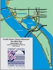 Cherry Blossom Course Map