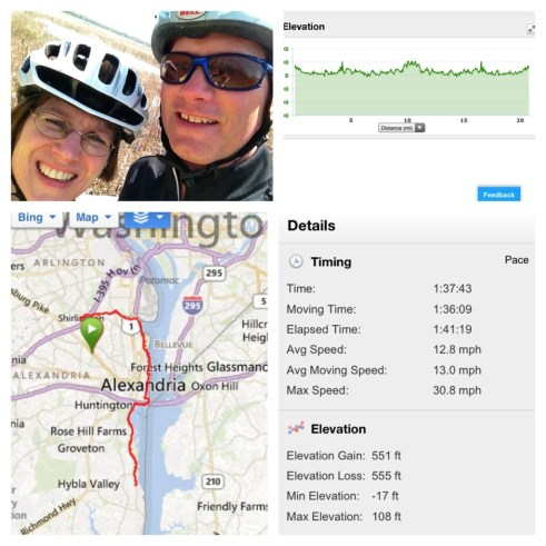 Washington DC Bike Paths