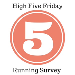 running survey