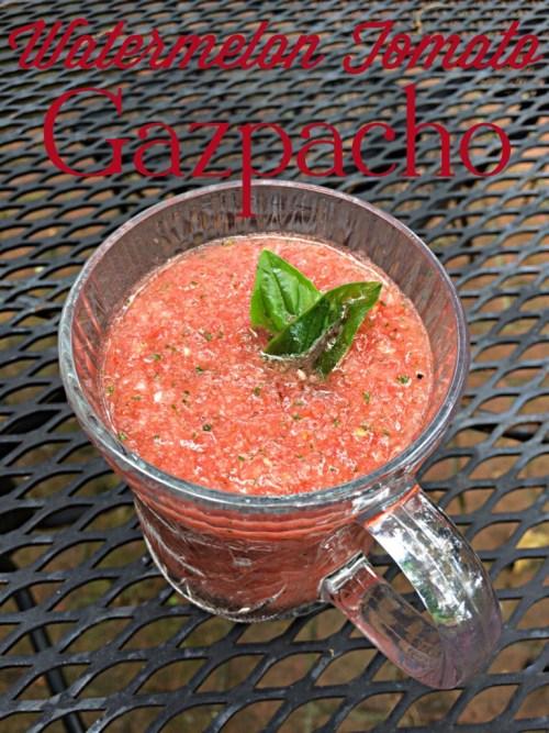 Watermelon Tomato Gazpacho Recipe