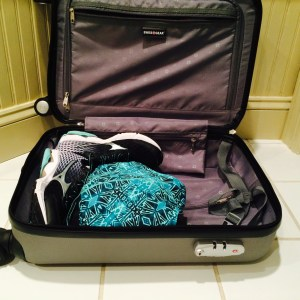 Packing Gym Clothes First