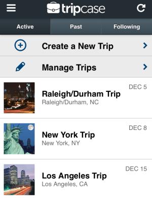 December Trips