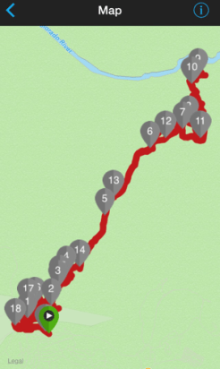 Bright Angel Trail Miles