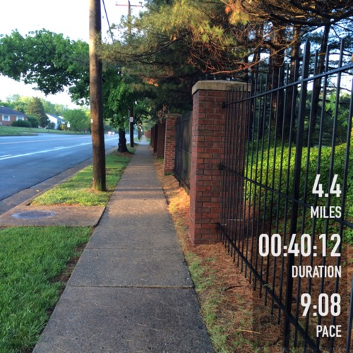 May Neighborhood run