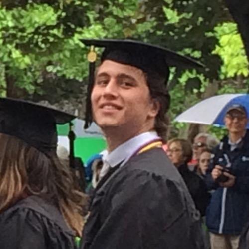 Celebrating Matt Graduation