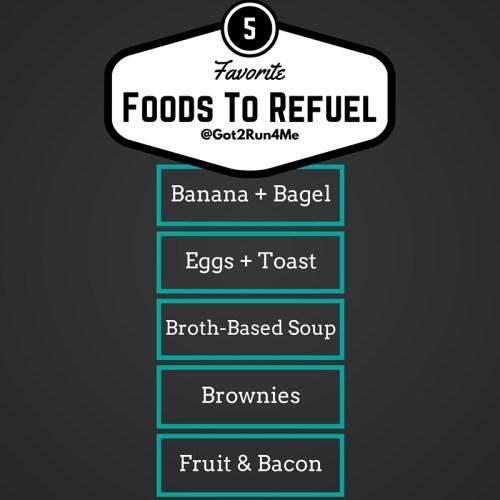 Post-Run Foods