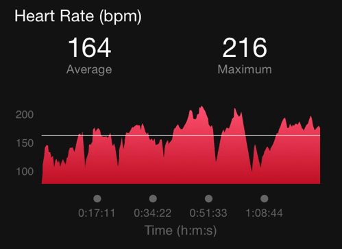 Heart Rate Running - Hilly Route