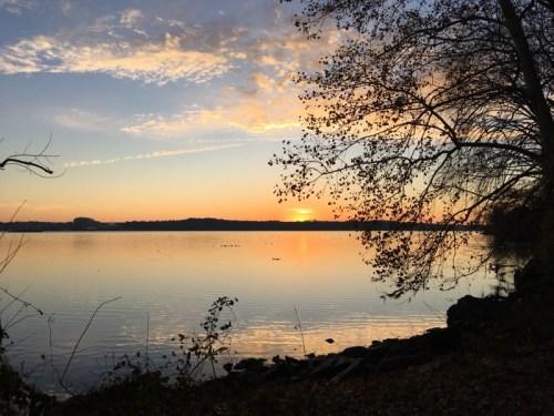 Sunrise Mount Vernon Trail