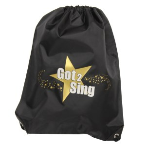 got2sing drawstring bag