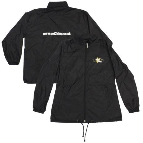 Got2Sing Ladies Windbreaker Jacket