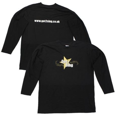 Got2Sing Unisex Long Sleeved T-shirt