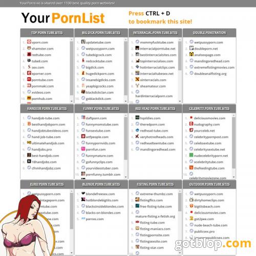 Free List Of Porn Online