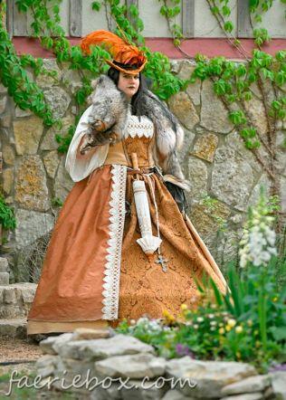 Regal court dress