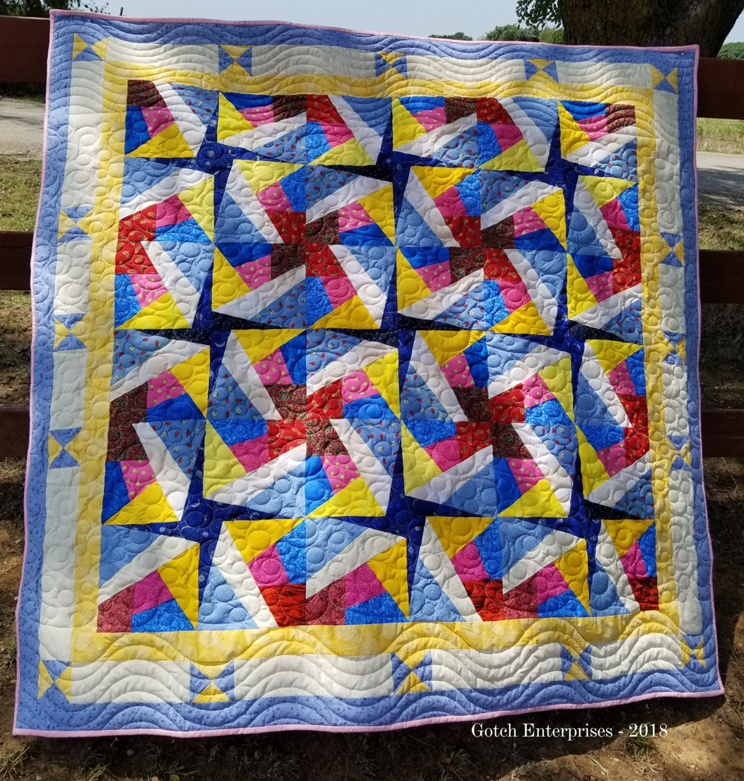 Paper Pieced Scrappy 2018