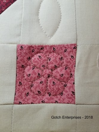 BOM 2018 Country Stitches Retro