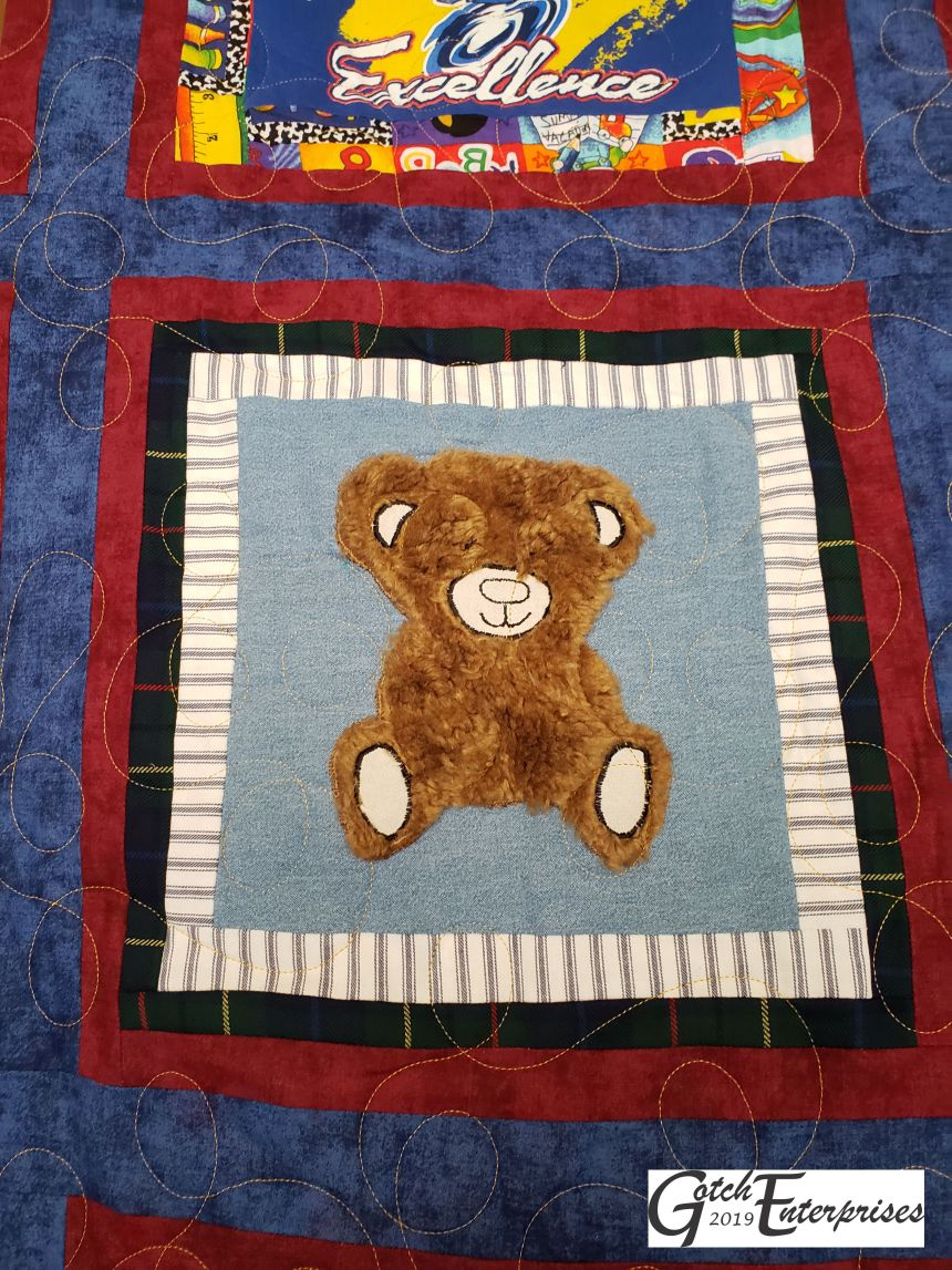 Teddy Bear Block