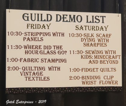 So much to do at the 2019 Ellis County Quilt Show
