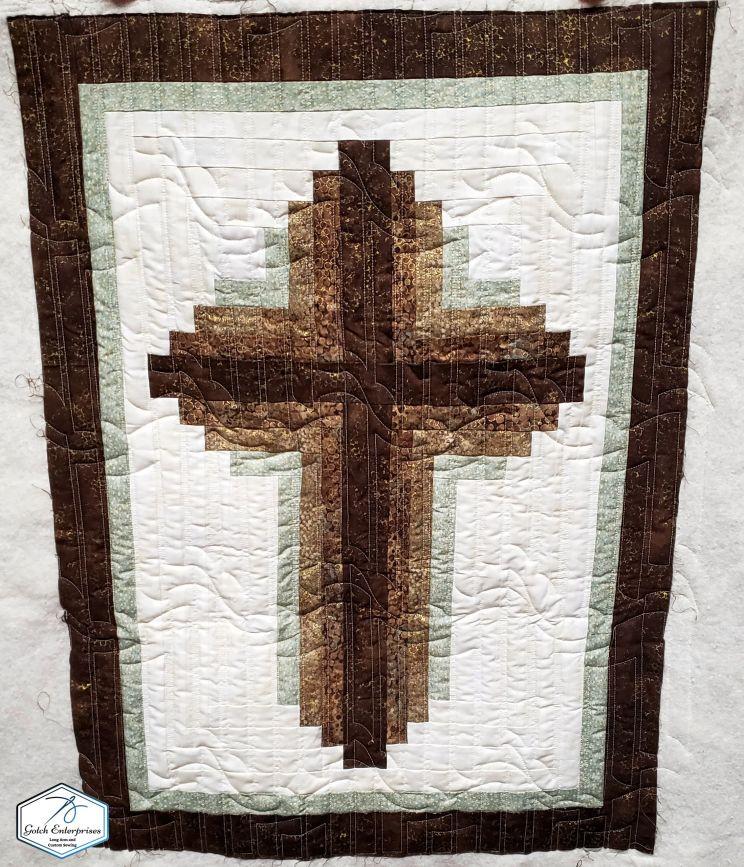 Copper Cross Quilt