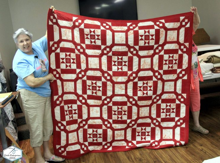 P Kay Arms Fox Mystery Quilt 19-20