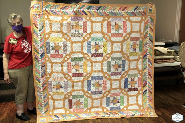 Anna Holoway Mystery Quilt 19-20