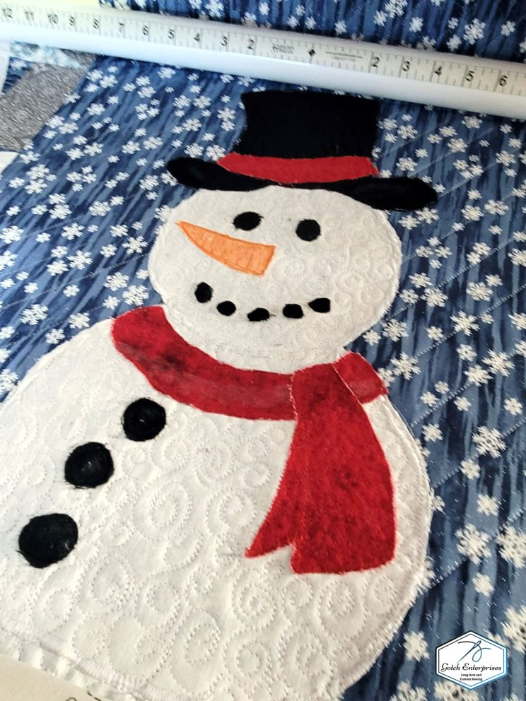 Snowman banner Custom Close