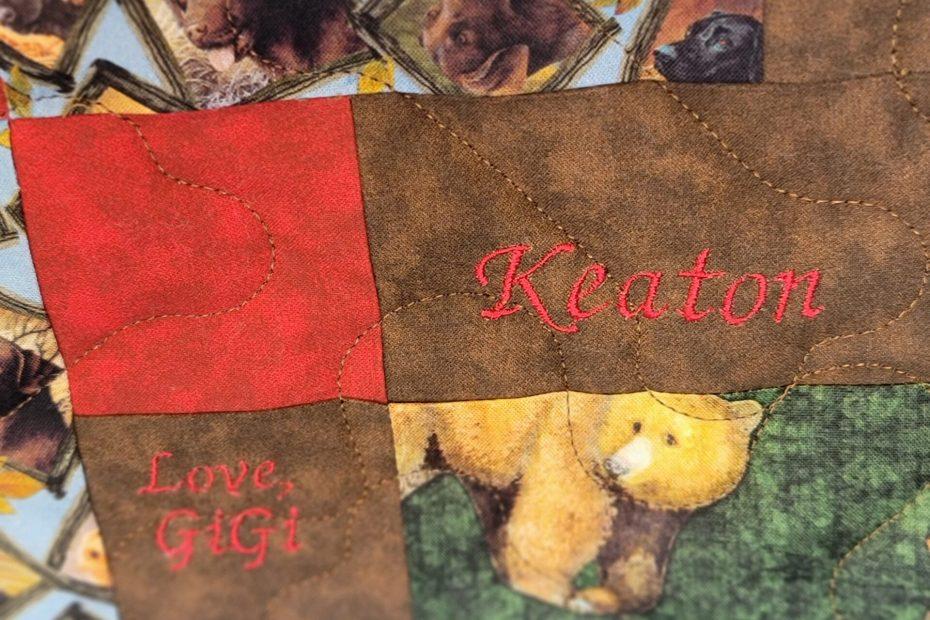 Keaton's puppy snacks close 2