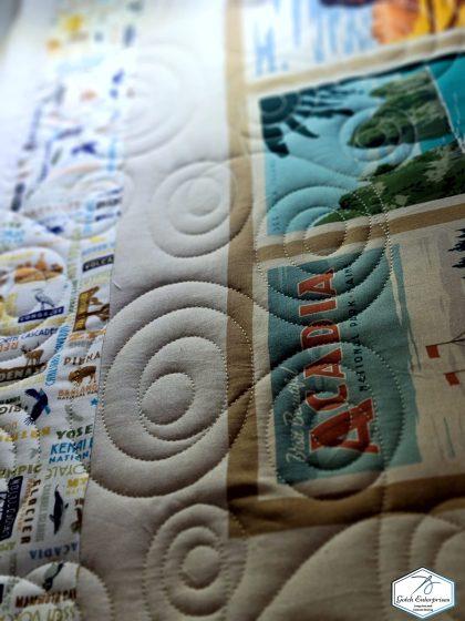 Travel quilt close 3