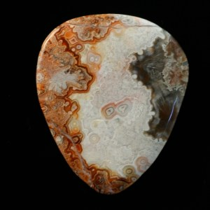 Lace Agate Guitar Pick