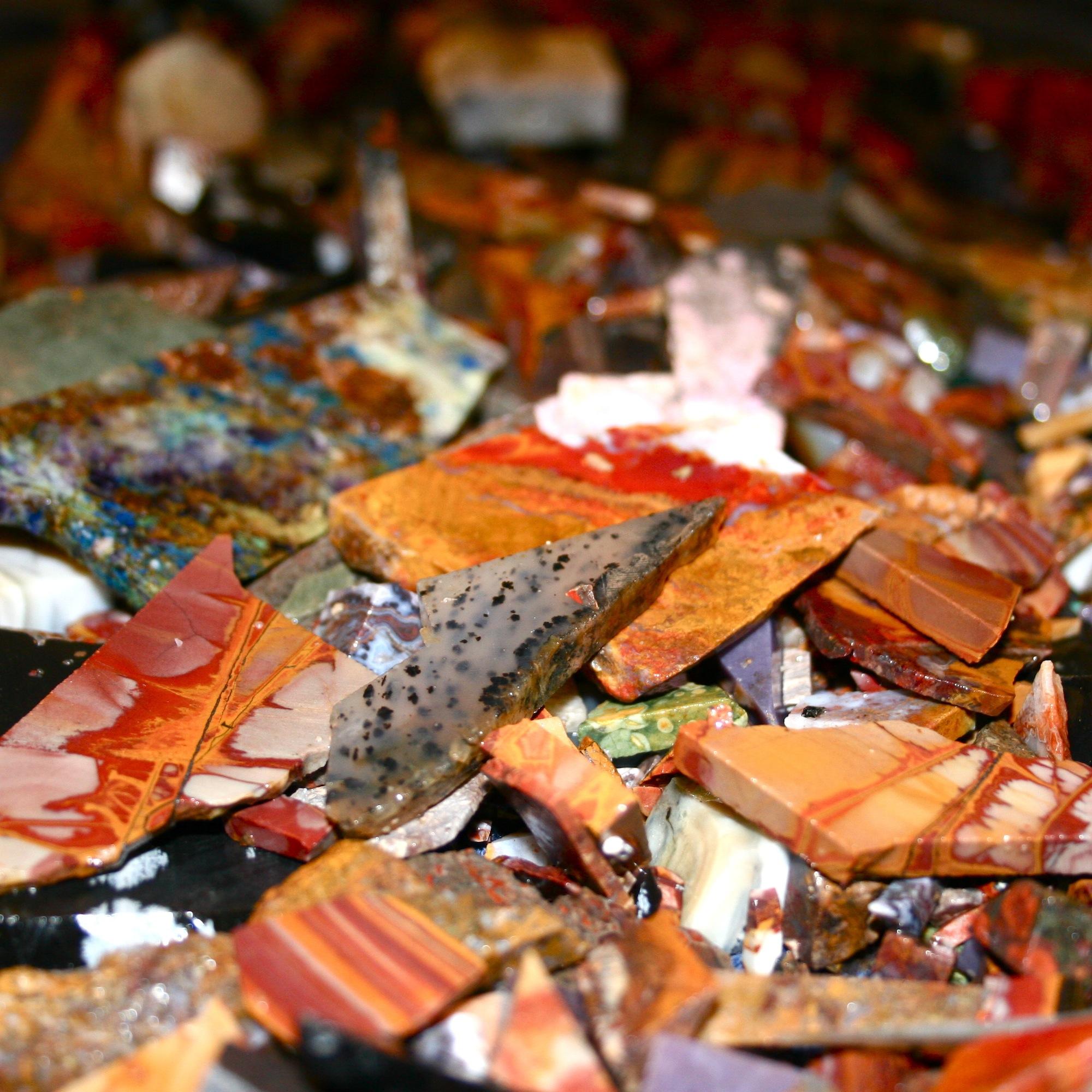 Mixed Jasper gemstones