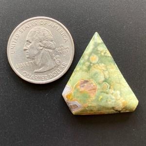 Rainforest jasper cabochon gemstone