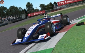 James Pinskner driving for us at GPVWC Formula Challenge.