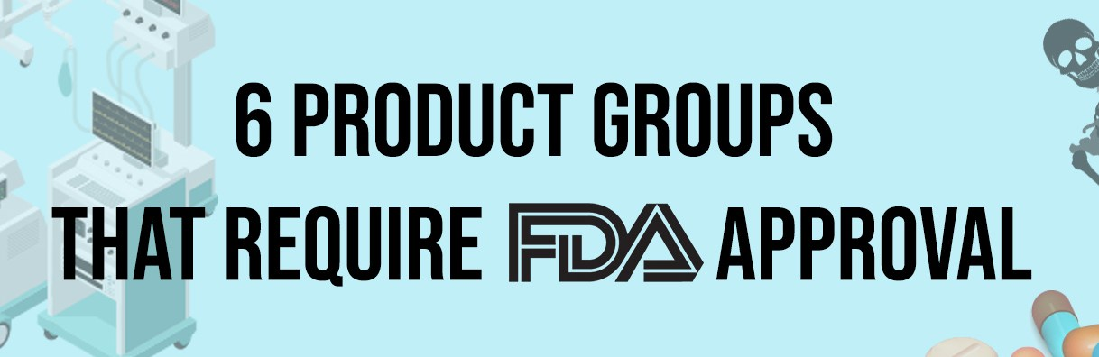 You need approval for that? The six product categories to get FDA approved