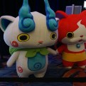 Nintendo's Komasan and Jibanyan from Yokai Watch