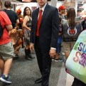 Agent 47 from Hitman, and yes, he had the barcode on the back of his head