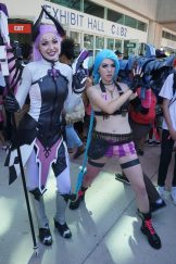 Imp Mercy from Overwatch joined by Jinks from League of Legends.