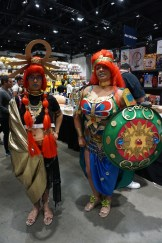 An incredibly detailed Risu and Urbosa from The Legend of Zelda: Breath of the Wild.